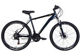Велосипед AL 24 DISCOVERY AM DD, рама 18 Чорний / синій (OPS-DIS-26-430)