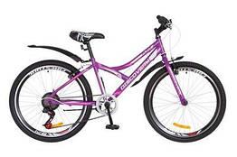 Велосипед ST 24 Discovery FLINT Vbr рама 13 з крилом, Фіолетовий (OPS-DIS-24-222)