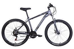 Велосипед AL 27.5 Discovery BASTION, AM, DD, рама 17 Сірий / чорний (OPS-DIS-27.5-025)