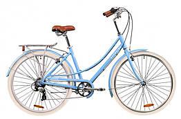 Велосипеди AL 28 DOROZHNIK SAPPHIRE, V-brake, рама 19 Блакитний (OPS-D-28-193)