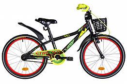 Велосипед AL 20 FORMULA STORMER Vbr рама 11 Чорний / червоний / жовтий (OPS-FRK-20-155)