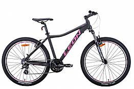 Велосипед AL Leon 26 HT-LADY, Vbr, рама 15 Графітовий / малиновий (OPS-LN-26-070)