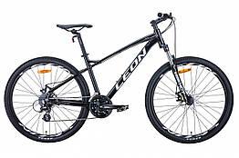 Велосипед AL 27.5 Leon XC-90, DD, рама 16.5 Чорний / білий (OPS-LN-27.5-086)