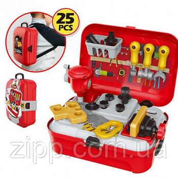 Портативний рюкзак Toy Tool Toy| дитячий Ігровий набір інструментів 25 предметів| Ігровий набір для хлопчиків