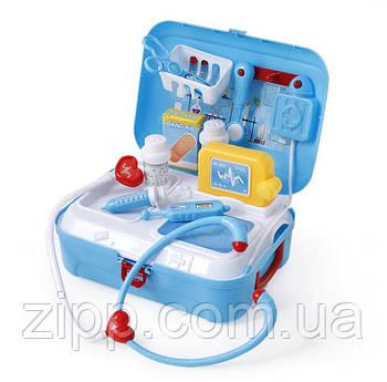 Портативний Рюкзак Doctor toy| Набір доктора| Ігровий набір для дітей| дитяча валіза лікаря
