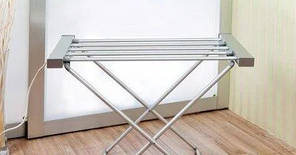 Електрична сушарка для білизни електросушарка плитка розкладне Besser 10291 120W, фото 3