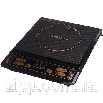 Індукційна електроплитка SONG XIANG 2200 Вт (08-SX)| Електроплити SONG XIANG| Електрична плита