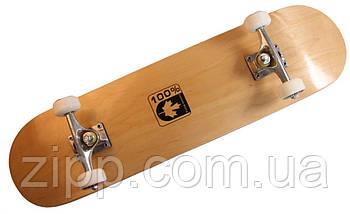 """Скейт дерев'яний Скейтборд """"Canada 100%""""  Скейтборд  Скейт для катання  Скейтборд трюкової"""