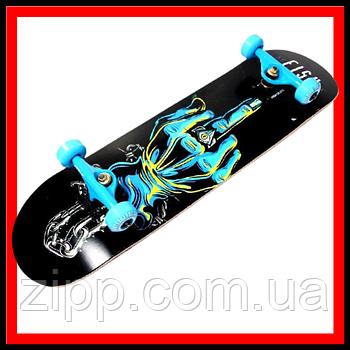 Скейт деревянный Fish Skateboard FINGER Скейтборд Скейт для катания Скейтборд трюковой