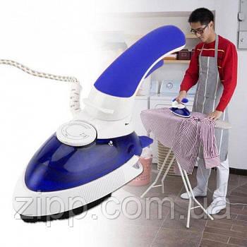 Відпарювач Mini Steam Iron HT-558B| Техніка для дому| Вертикальний ручної відпарювач для одягу
