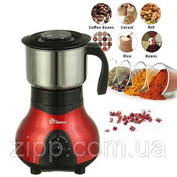 Кавомолка DOMOTEC MS-1108  Кавомолка електрична  Подрібнювач кави, спецій, цукру  Кавомолка-Мультимолка