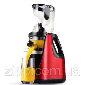 Соковыжималка Domotec MS-5223| Шнековая соковыжималка с емкостью для сока| Соковыжималка для овощей и фруктов