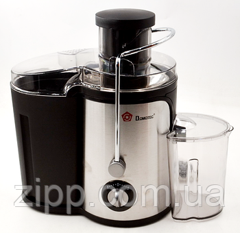 Соковитискач DOMOTEC MS-5220 | Шнекова соковижималка з ємністю для соку| Соковижималка для овочів і фруктів