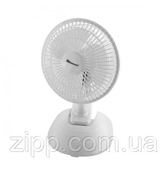 Вентилятор DOMOTEC MS-1623 White/6  Настільний вентилятор  Кімнатний вентилятор  Вентилятор DOMOTEC