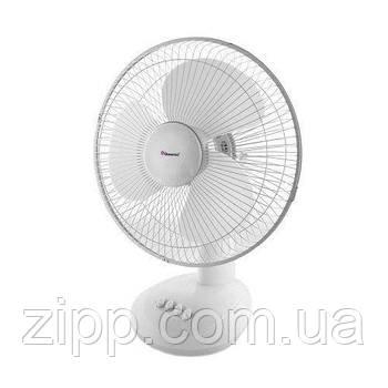 Вентилятор DOMOTEC MS-1626 White /16  Настільний вентилятор  Кімнатний вентилятор  Вентилятор DOMOTEC