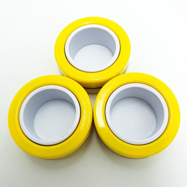 Спиннер магнітний антисресс магнітні кільця спинуер іграшка 3 в 1 Fin Gears Magnetic Rings