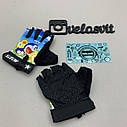 Дитячі яскраві рукавички для спорту, фото 2