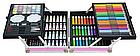 """Набор для рисования """"Единорог"""" в  чемодане на 145 предметов    Набор для детского творчества Розовый, фото 2"""