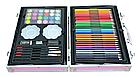 """Набор для рисования """"Единорог"""" в  чемодане на 145 предметов    Набор для детского творчества Розовый, фото 3"""