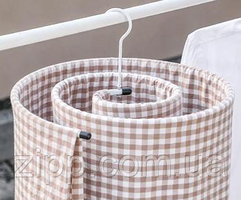 Вішалка - сушарка Chrishuang спіральна   вішалка для одягу   сушарка для рушників