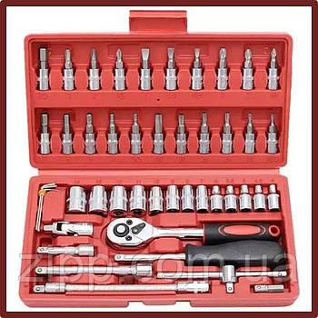 Набір інструментів AvtoPro 46 PIECE TOOL SET 46 предметів у валізі
