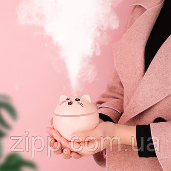 Увлажнитель воздуха для арома эфирного масла  Кот | аромаувлажнитель | диффузор Cuty Cat