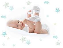 Носочки, пинетки для новорожденных