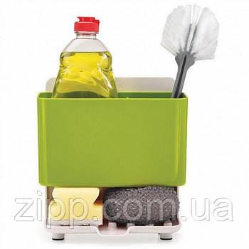 Органайзер для кухонних приналежностей на раковину зі зливом води Caddy Tower| Органайзер для щіток, губок