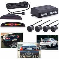 Парктроник Premium Parking Sensor на 4 датчика на все виды авто LED-дисплей Диапазон измерений: от 0 до 2.5 м