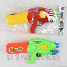 Водный пистолет 920-10 () с насосом, 2 цвета, в кульке