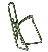 Флягодержатель Green Cycle GGE-112 алюмінієвий 500-750ml зелений