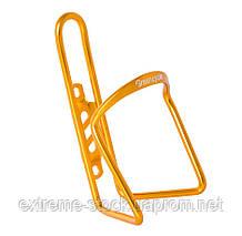 Флягодержатель Green Cycle GGE-112 алюмінієвий 500-750ml жовтий