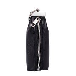 Ключниця з натуральної шкіри ТМ ArtMar , 14,5 x 3,5 x 4,5 см , колір чорний