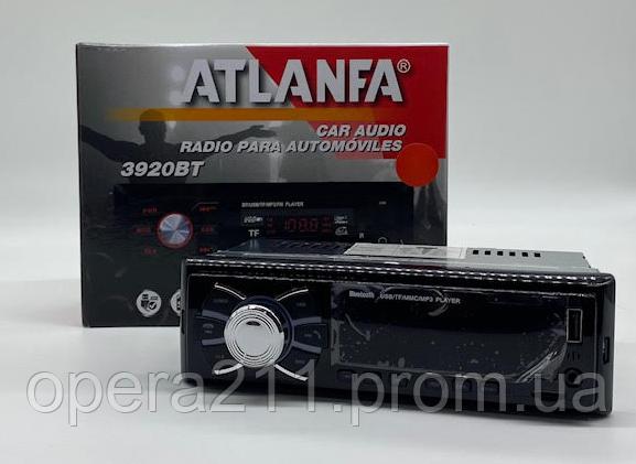 Автомобильная магнитола AT-1080BT // 2 выхода / BLUETOOTH / USB / FM / AUX (20шт)