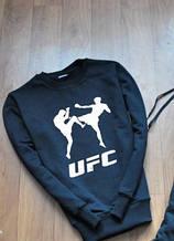 """Свитшот темно-синий с логотипом UFC """""""" В стиле UFC """""""" демисезонный"""