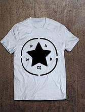 """Розмір М біла Футболка чоловіча, жіноча ( унісекс ) P&Co Star """""""" ТОП Репліка """""""""""