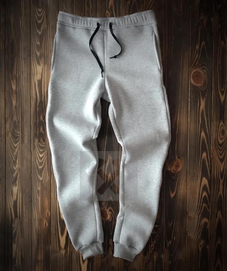 Спортивные штаны Серые без  надписей и рисунков унисекс ( мужские, женские, подростковые )