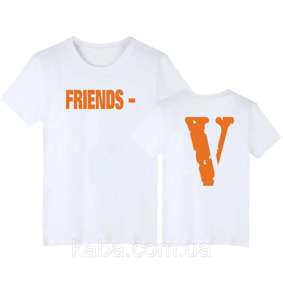 Футболка Friends Tee V Lone Біла чоловіча