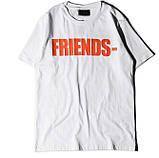 Футболка Friends Tee V Lone Біла чоловіча, фото 4
