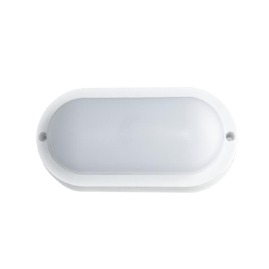 Світильник світлодіодний накладний ЕВРОСВЕТ 8Вт овал CL-303 6400K IP65