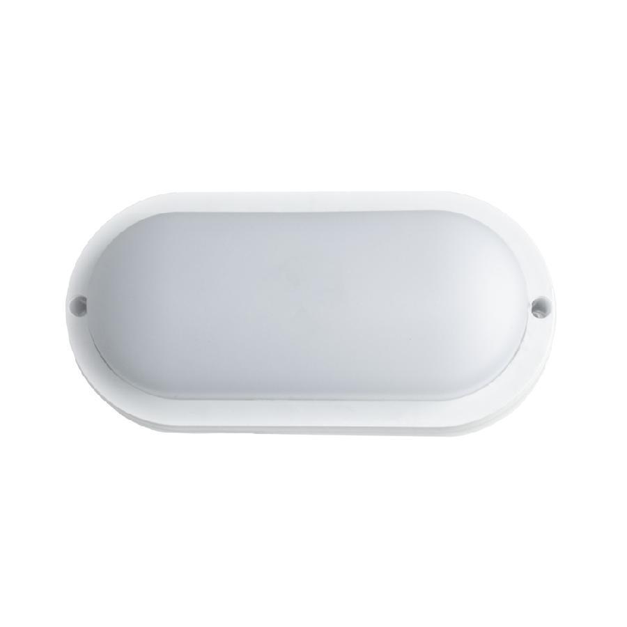 Світильник світлодіодний накладний ЕВРОСВЕТ 12Вт овал CL-303 6400K IP65