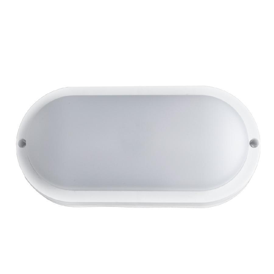 Світильник світлодіодний накладний ЕВРОСВЕТ 15Вт овал CL-303 6400K IP65