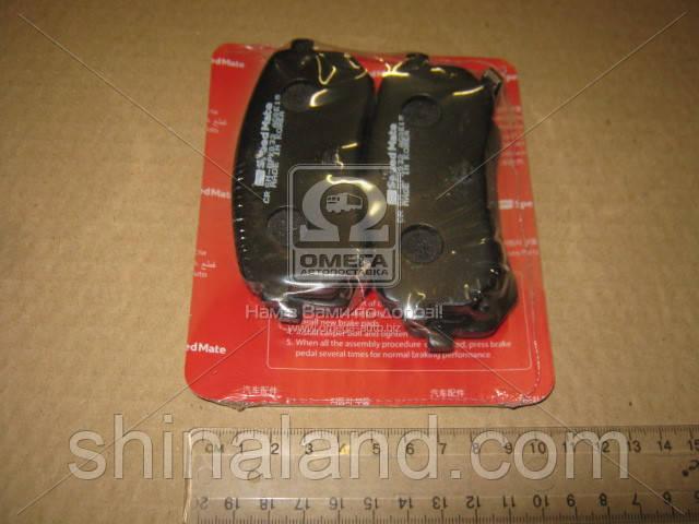 Тормозные колодки дисковые KIA I10 задние (SPEEDMATE, Korea) OE 5830207A00
