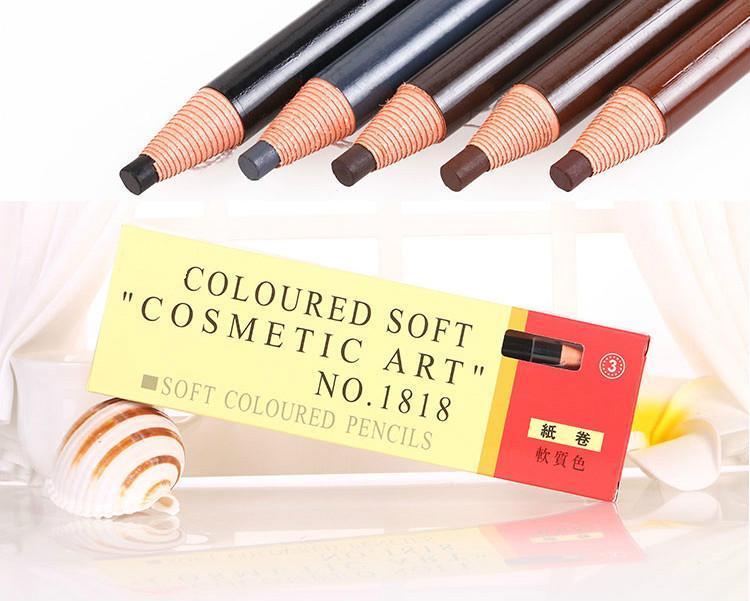 Олівець для татуажу брів Cosmetic art 1818 сірий