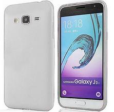Чехол для  Samsung Galaxy J3 2016 J320 белый