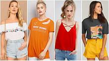 Женские футболки. майки. топы.