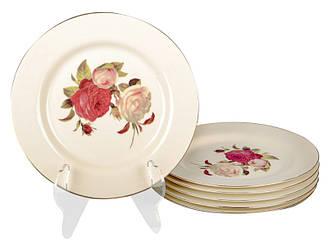 Набор тарелок Lefard Розы 6 предм 19 см 126-602