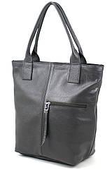 Жіноча шкіряна сумка Borsacomoda, Україна сірий 811.021