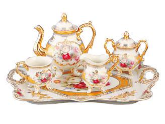 Чайний набір Lefard Букет троянд на 10 предметів 215-164