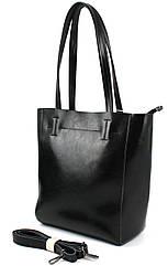 Жіноча шкіряна сумка Borsacomoda, Україна чорна